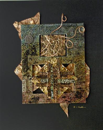 initiate mixed media (c) 2008, Lynne Medsker