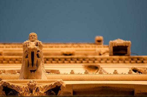 Asomado desde el Palacio Diocleciano (by Weiko)