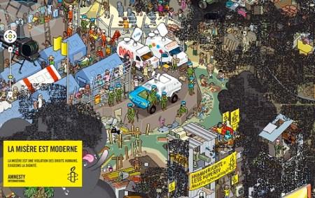 Amnesty International - la misère moderne