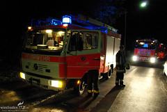Brandverdacht Mühlwiesenstr. 22.07.09