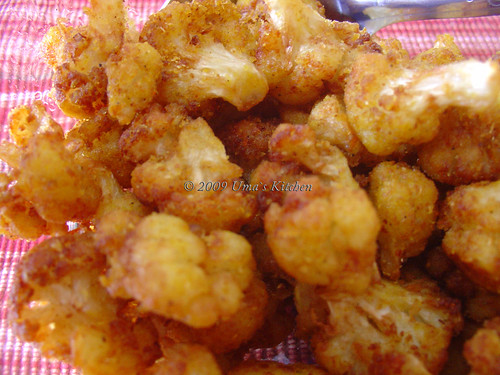 Cauliflower Fry