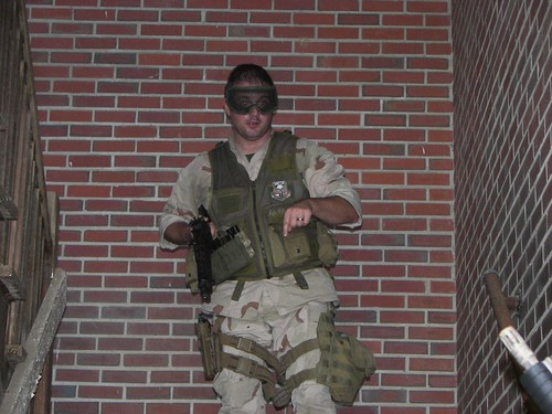 And, the back story of this Wounded Warrior from the USMC makes his dedication to airsoft even MORE REMARKABLE!