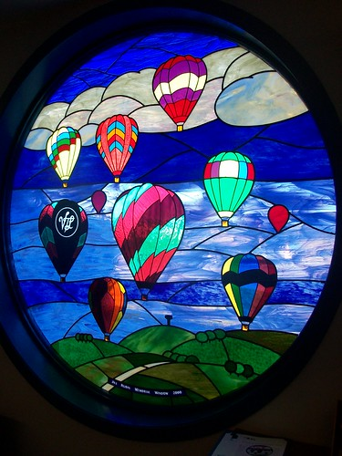 Balloon Stained Glass