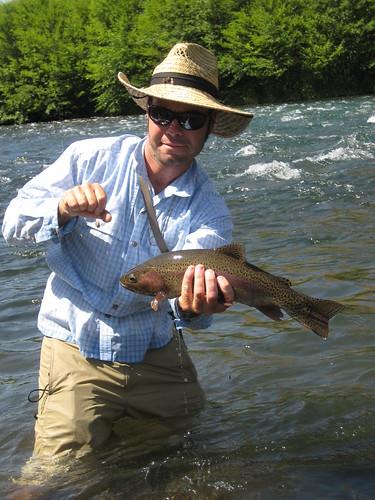 A Beautiful Deschutes River Redside