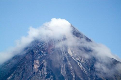 Mayon Volcano (close up) 2