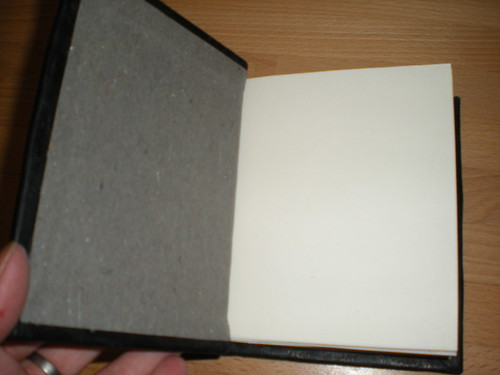 inside cover of the book