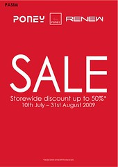 Poney & Renew sale