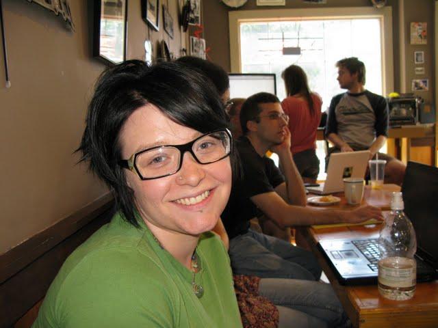 Leah Creates at NH Media Makers (by mrjohnherman)