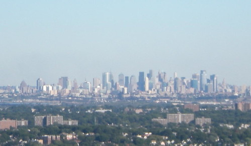View of Lower Manhattan From Eagle Rock Reservation, West Orange, NJ