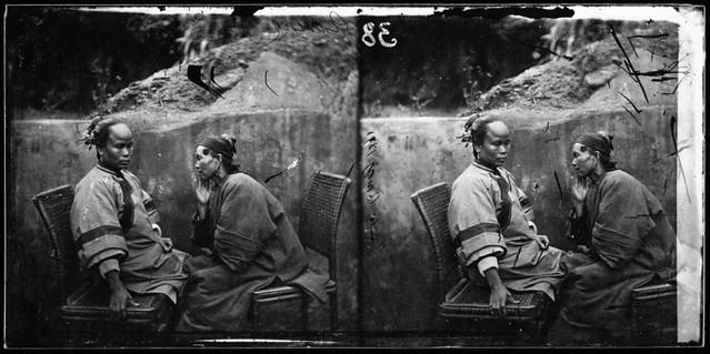 Two Amoy Women, Fukien Province, China [1871] John Thomson