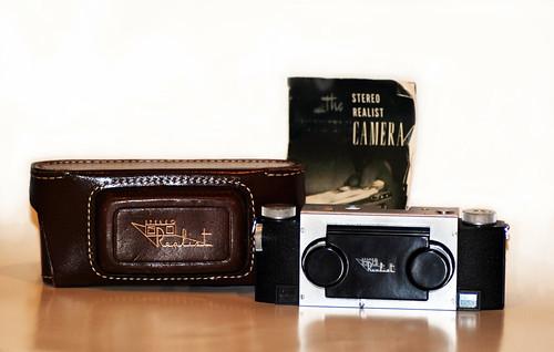 David White Stereo Realist Camera