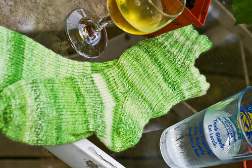 beer and the socks