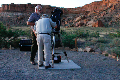 GB and Jim check out Chacos new goto telescope