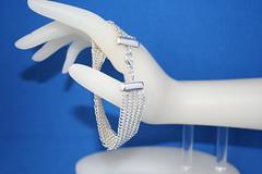 ID #1229 European 4-in-1 Chain Maille Bracelet