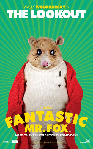 Fantastic Mr. Fox (2009) character poster-The Lookout