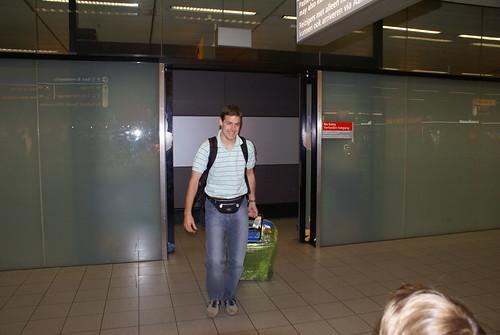 Aankomst Schiphol 2009