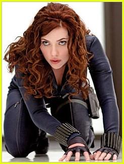 iron man 2 la viuda negra scarlett johansson por ti.