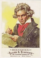Beethoven on a Bubblegum Card!