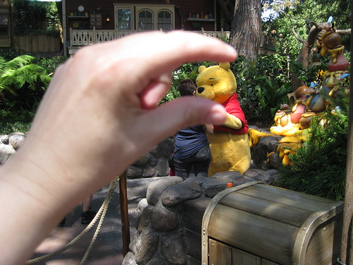 I crush Pooh's head