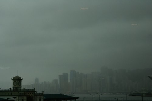 hong kong typhoon