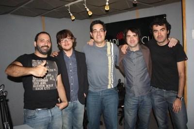 Con Pablo, Ernesto y Manu de Delco