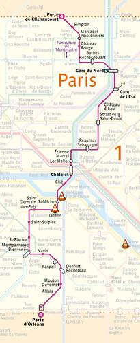 Line 4-RATP-map