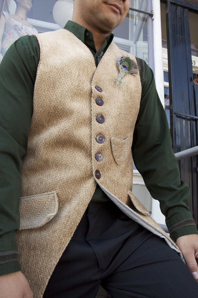 DAS Waistcoat with boutonniere by Eileen