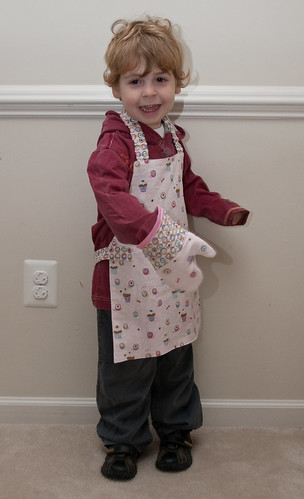 Apron and Mitt for Mallory