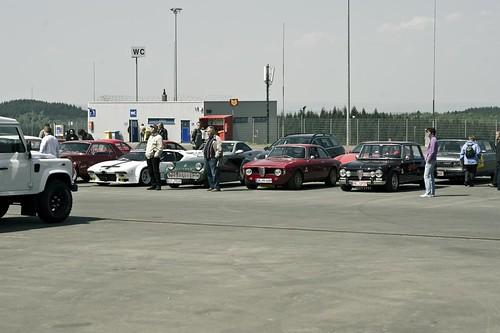 Historic Paddock reopening at the Nürburgring
