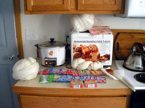kitchen safe dyeing