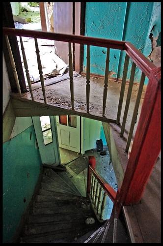 bunte Treppe