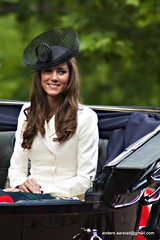 Trooping the colour - Kate