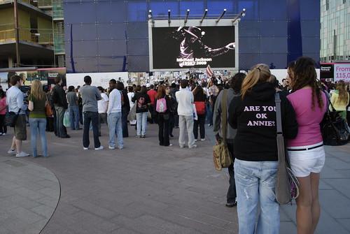 Michael Jackson vigil - 13 July 2009