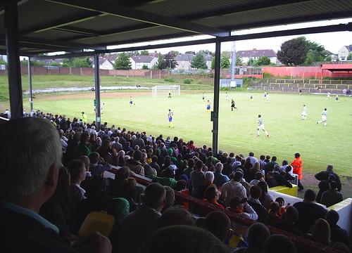 Albion Rovers vs. Celtic XI
