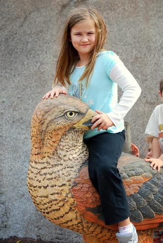 extinct giant scary eagle