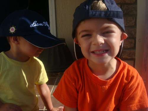 caden in a hat