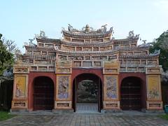Tor der Kaiserstadt in Hue