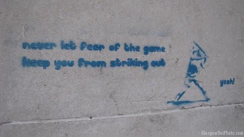 """Encouraging"" Graffiti"
