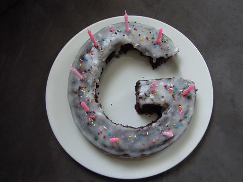 Birthday cake for Gloria