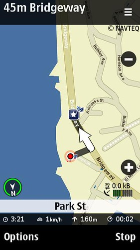 Nokia Maps Walking Directions