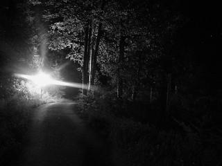 ashram - at night