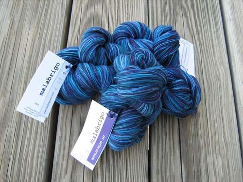 yarn malabrigo lace whales road