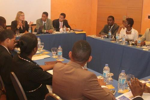 Taller sobre Objetivos del Milenio para jovenes de Haiti y Republica Dominicana en Punta Cana RD.
