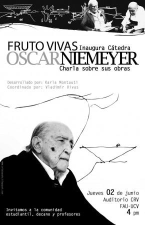Charla sobre la obra de Niemeyer por Fruto Vivas 02/06
