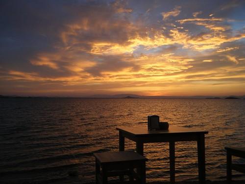 Otra puesta de sol