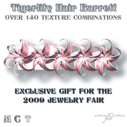 ~flirt~ Tigerlily Hair Barrett: 2009 Jewelry Fair Exclusive Gift