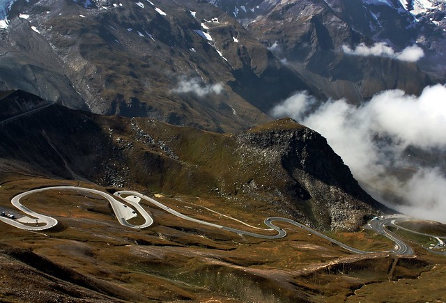 The Alpine Road Grossglockner High Salzburger Land Austria Tyrol