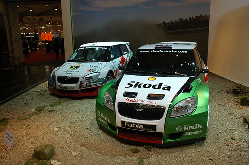 Skoda Fabia Super2000 Rally Cars