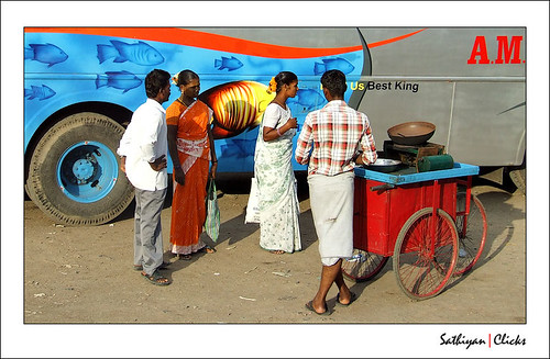 Bus stand life