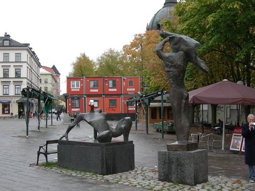 disturbing statues